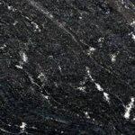 Črn naravni granit z belimi vzorci Via Latea
