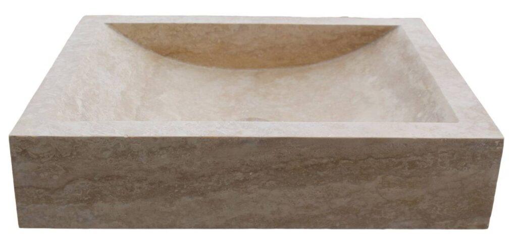 Globlji kopalniški umivalnik iz Marmorja