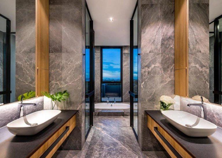 Kamnita kopalnica Belinda Silver
