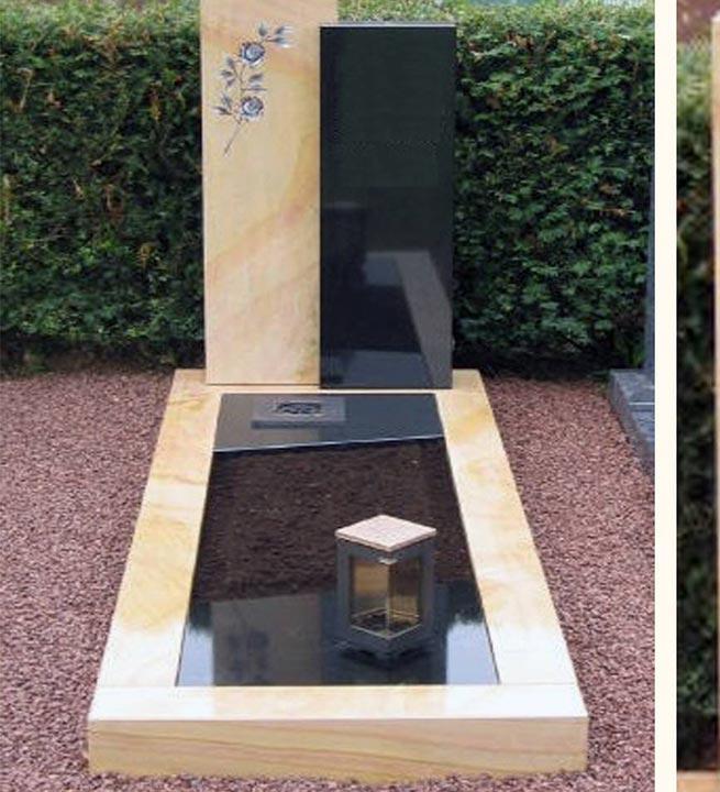 Nagrobni spomenik iz naravnega kamna