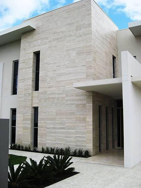 Naravni kamen za oblaganje fasade