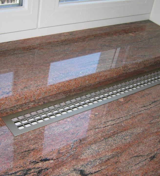 Okenske police Granit 6