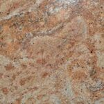 Roza-rjav vzorec granita Golden Oak Dark