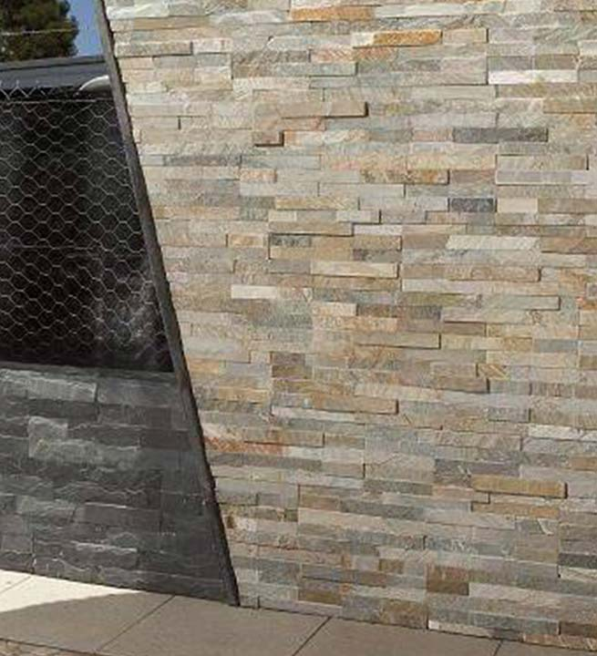 Rustikalno oblaganje fasad z dekorativnim kamnom