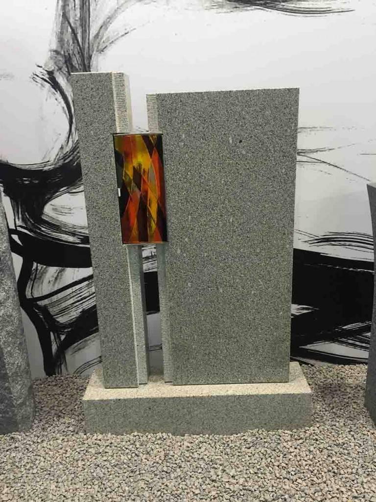 Žgan Granit v kombinaciji s steklom