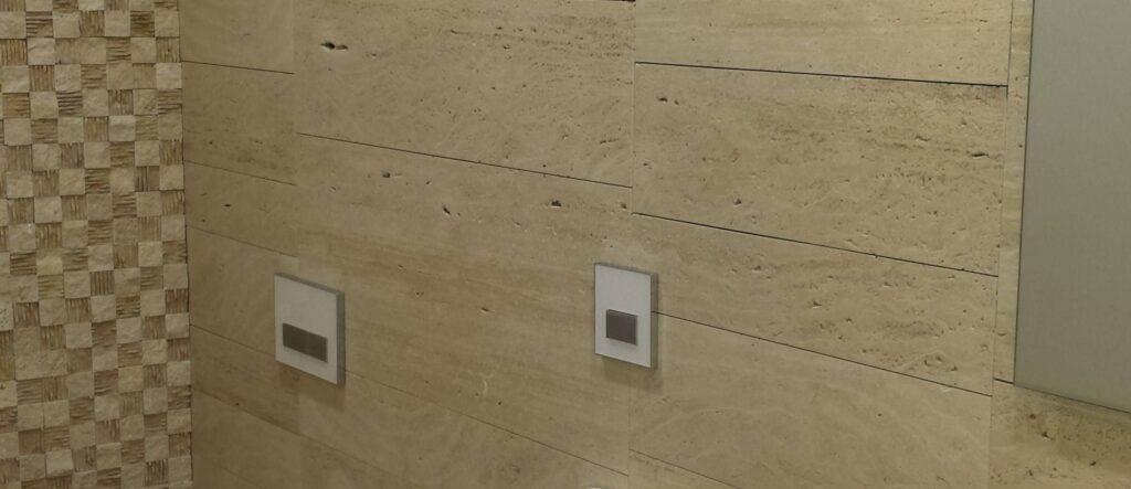 Zidna obloga za kopalnico Travertin Medium- nezapolnjen-brušen