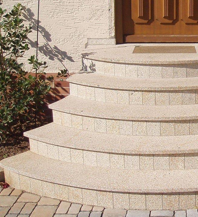 Zunanje okrogle stopnice